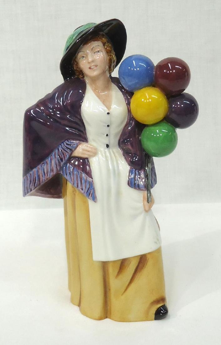"Royal Doulton Figure ""Balloon Lady"""