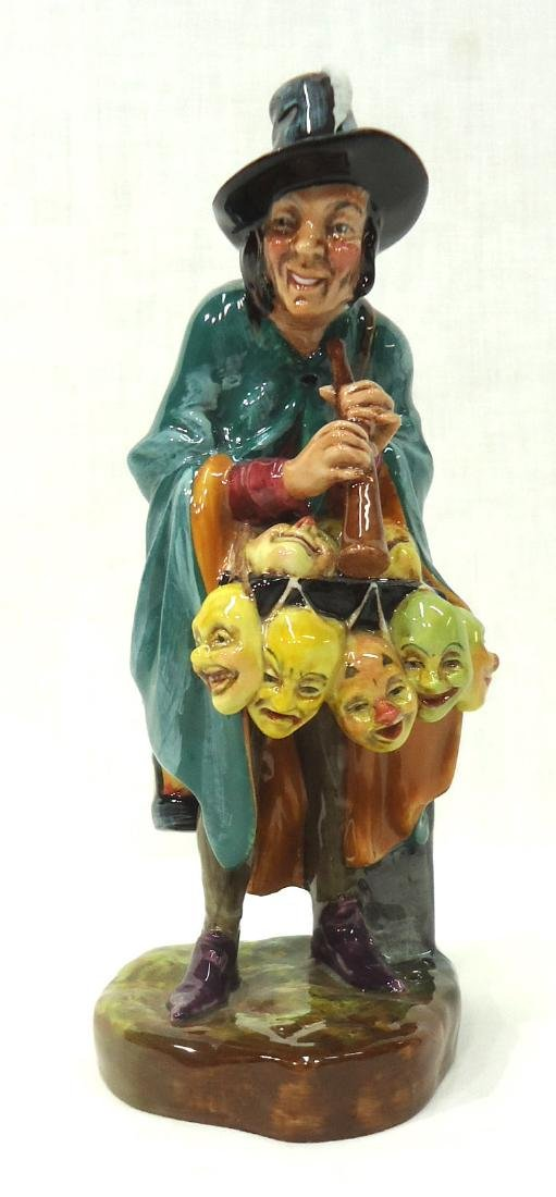 "Royal Doulton Figure ""The Mask Seller"""