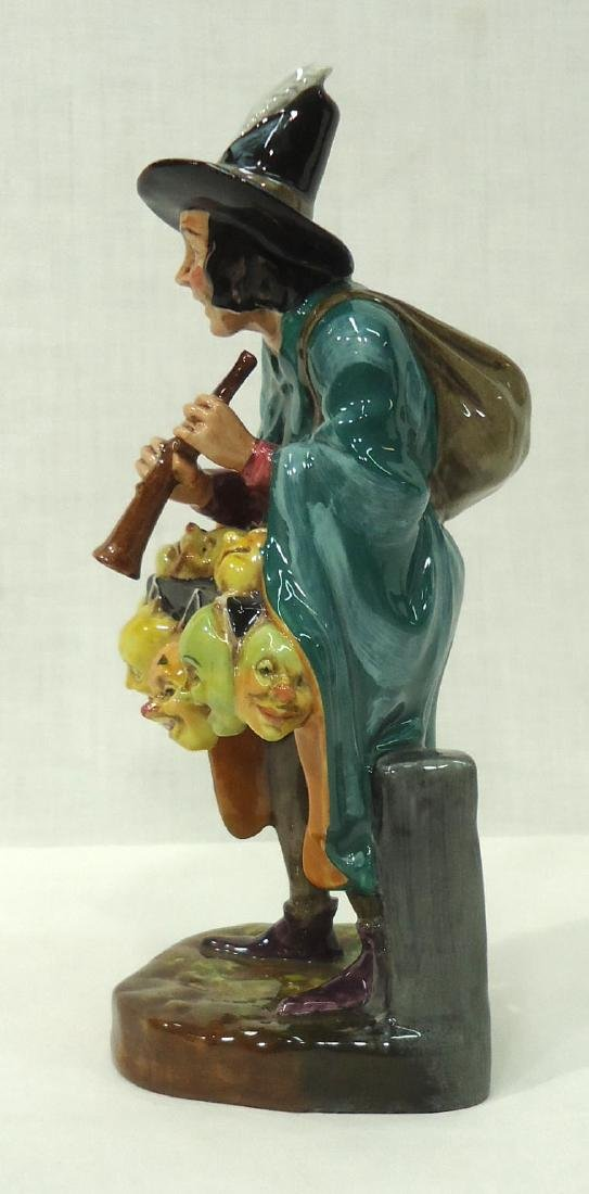 "Royal Doulton Figure ""The Mask Seller"" - 2"
