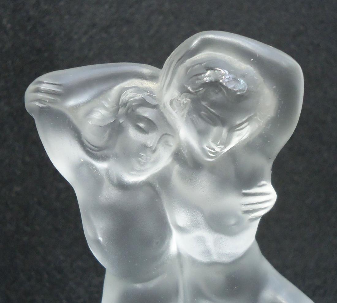Sgnd Lalique Nudes - 4