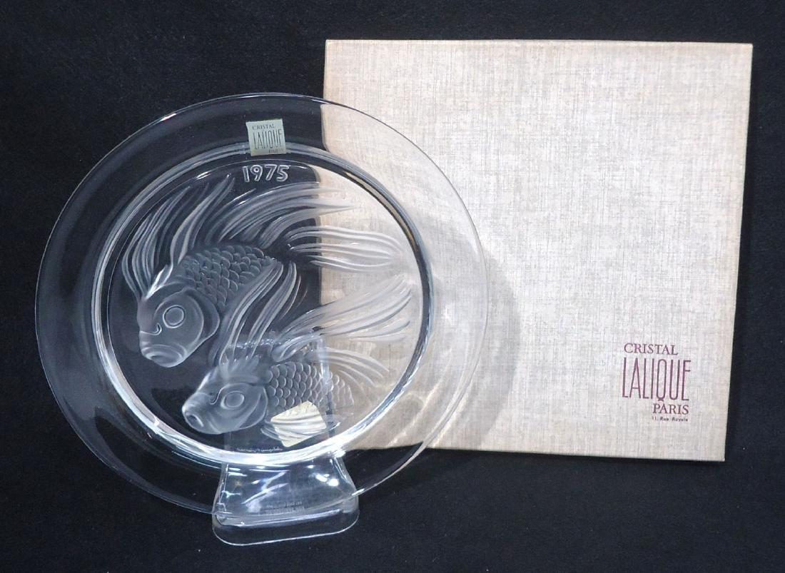 Sgnd Lalique Plate