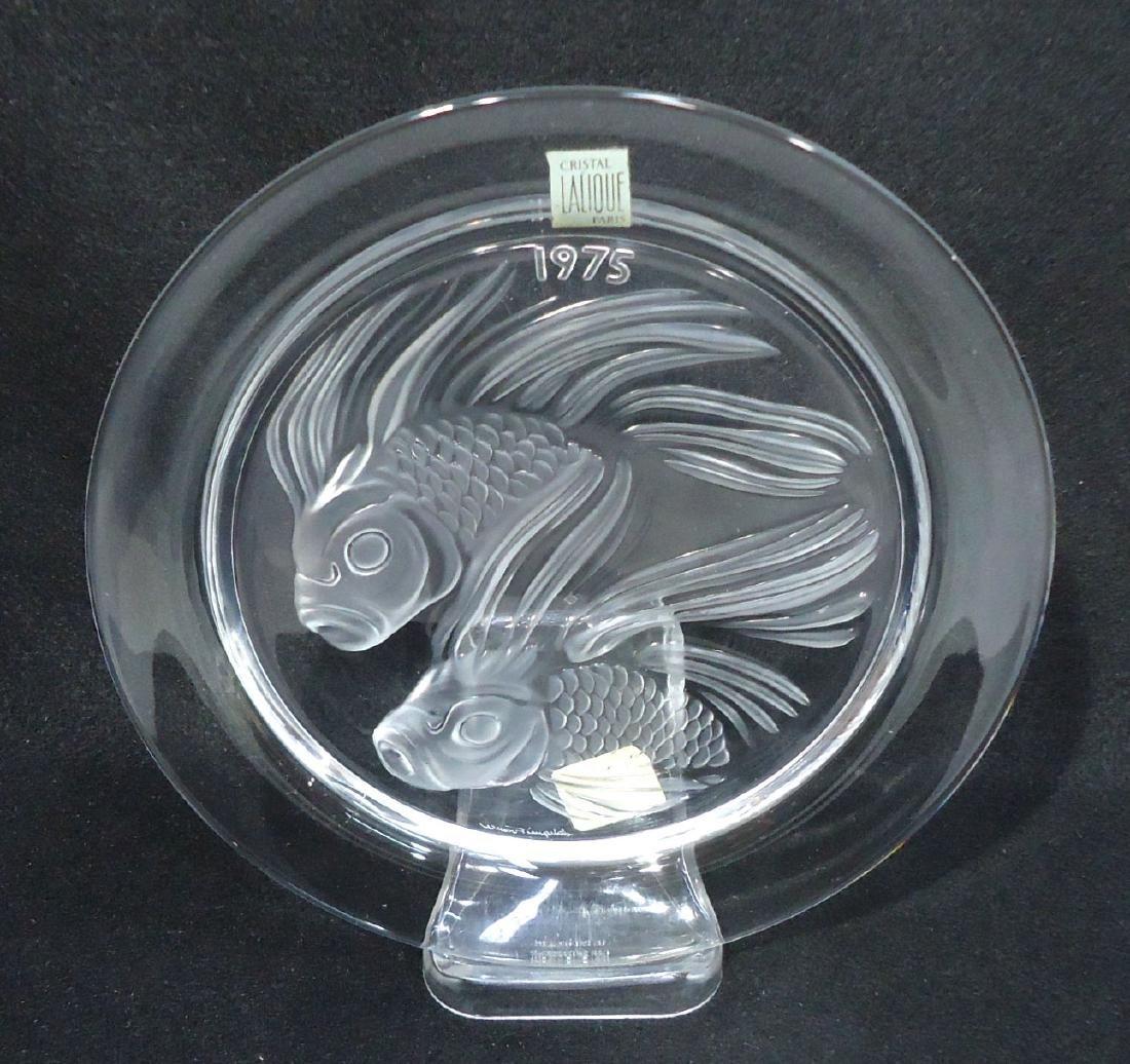 Sgnd Lalique Plate - 2