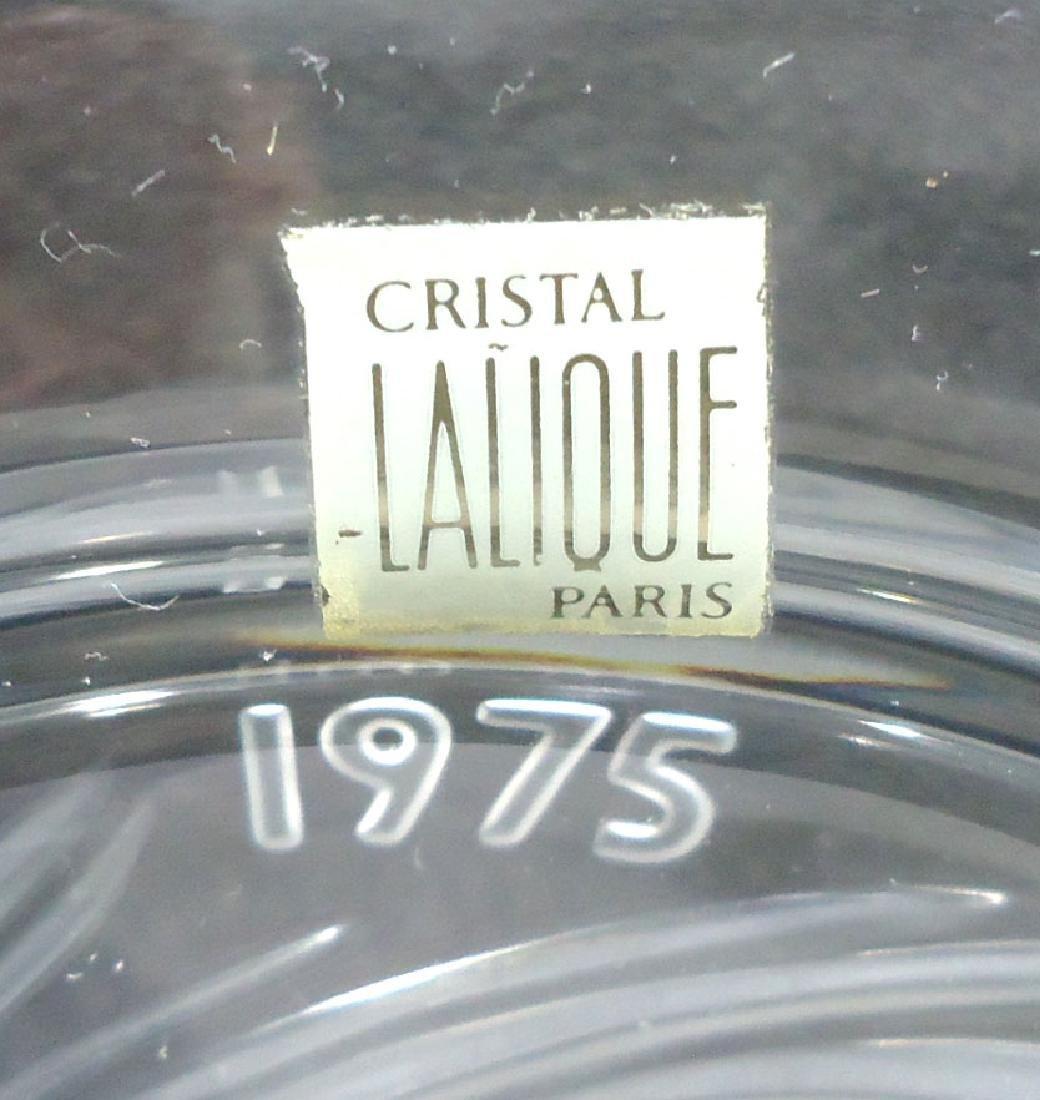 Sgnd Lalique Plate - 3