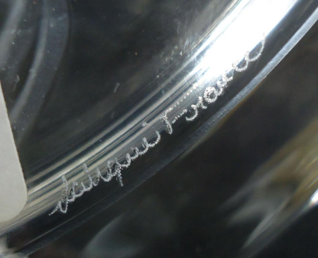 Sgnd Lalique Plate - 5