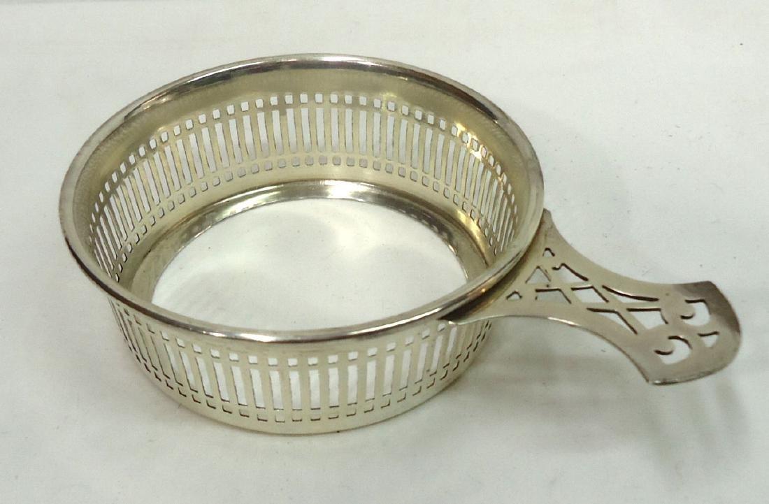 6 Ramekins w/ Sterling Silver Holders - 2