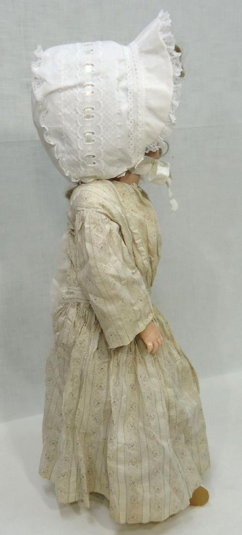 "26"" German Bisque Doll - 3"