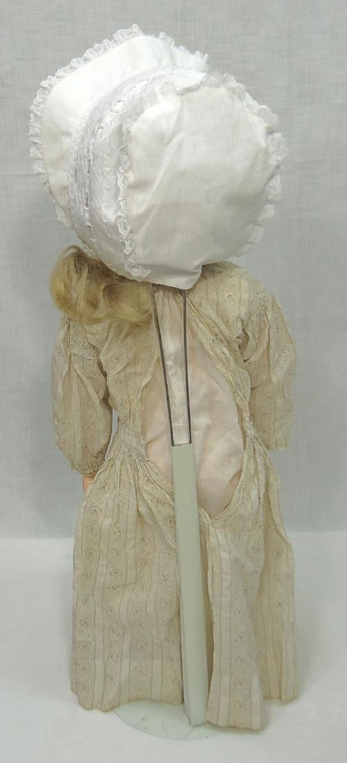 "26"" German Bisque Doll - 4"