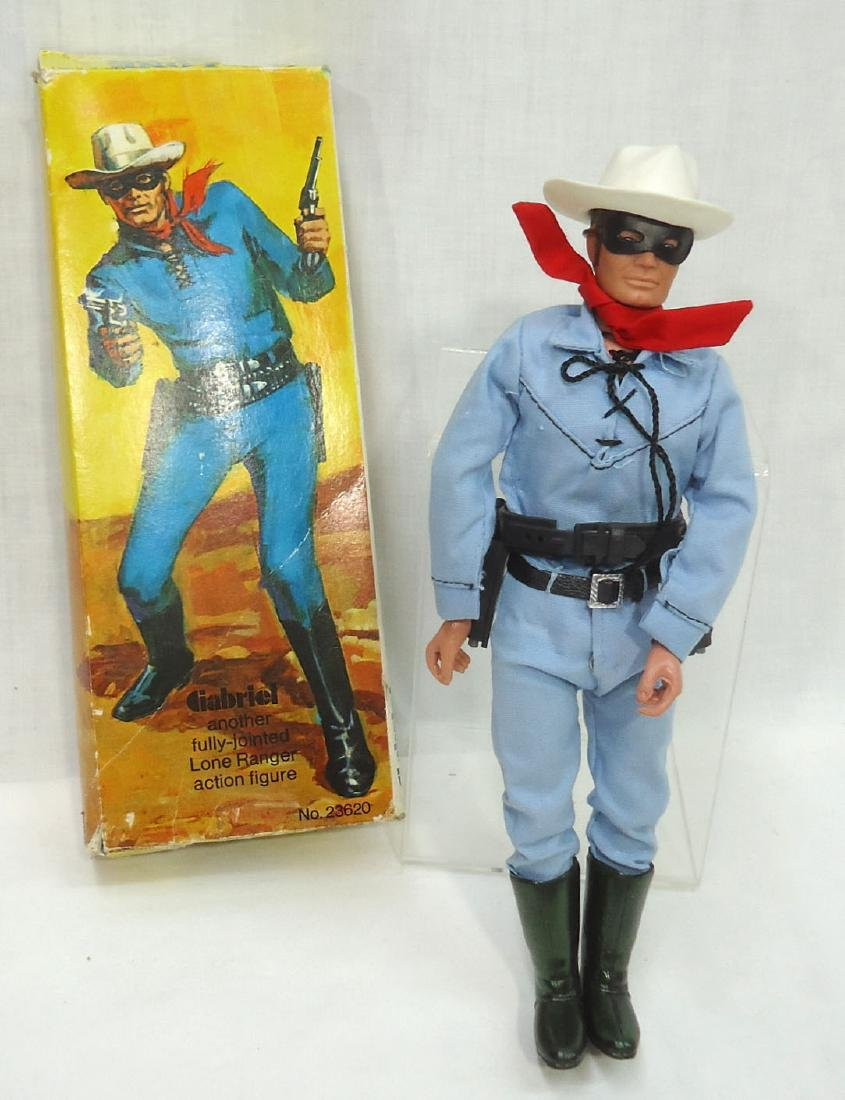 The Lone Ranger Action Figure Orig. Box
