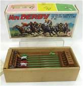 Mini Derby Horse Race Game Orig Box