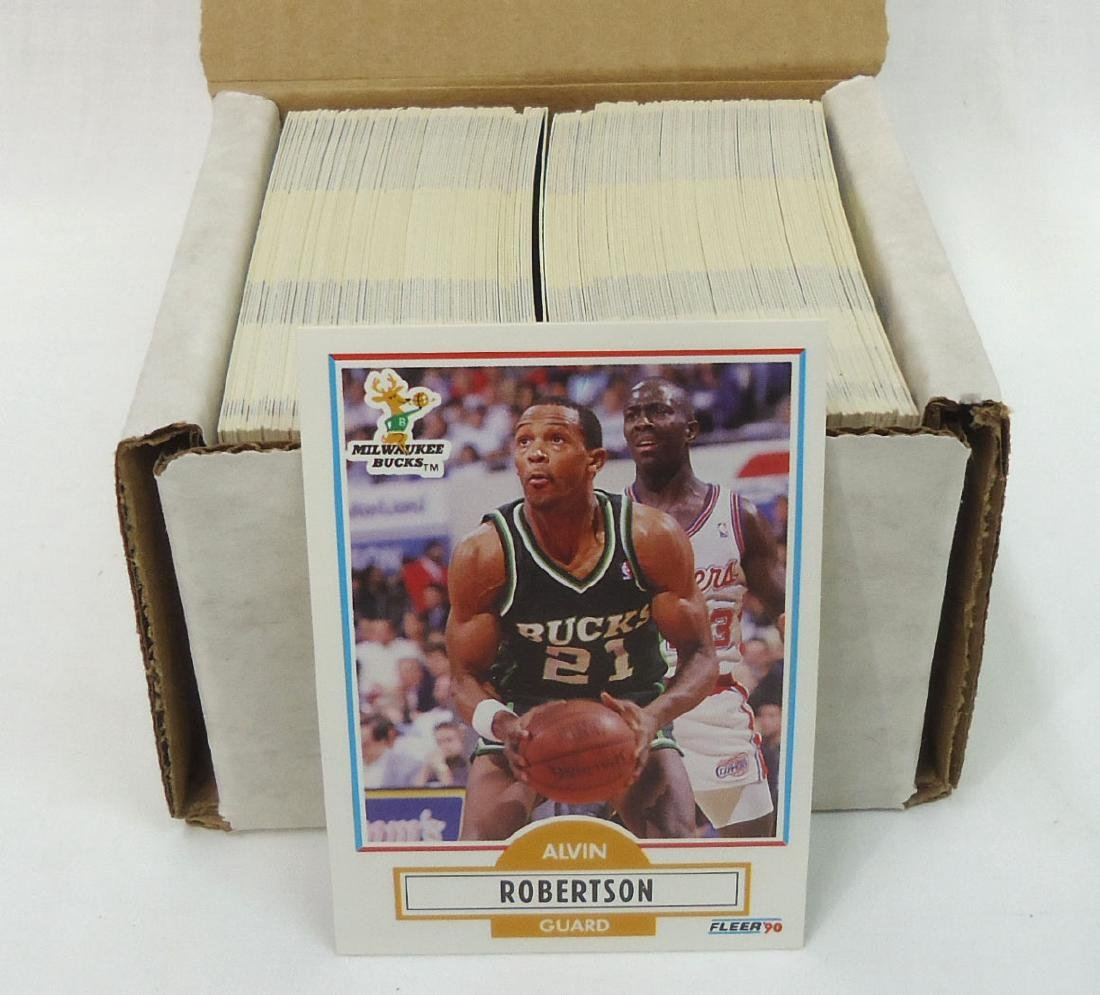 1990 Fleer Basketball Cards