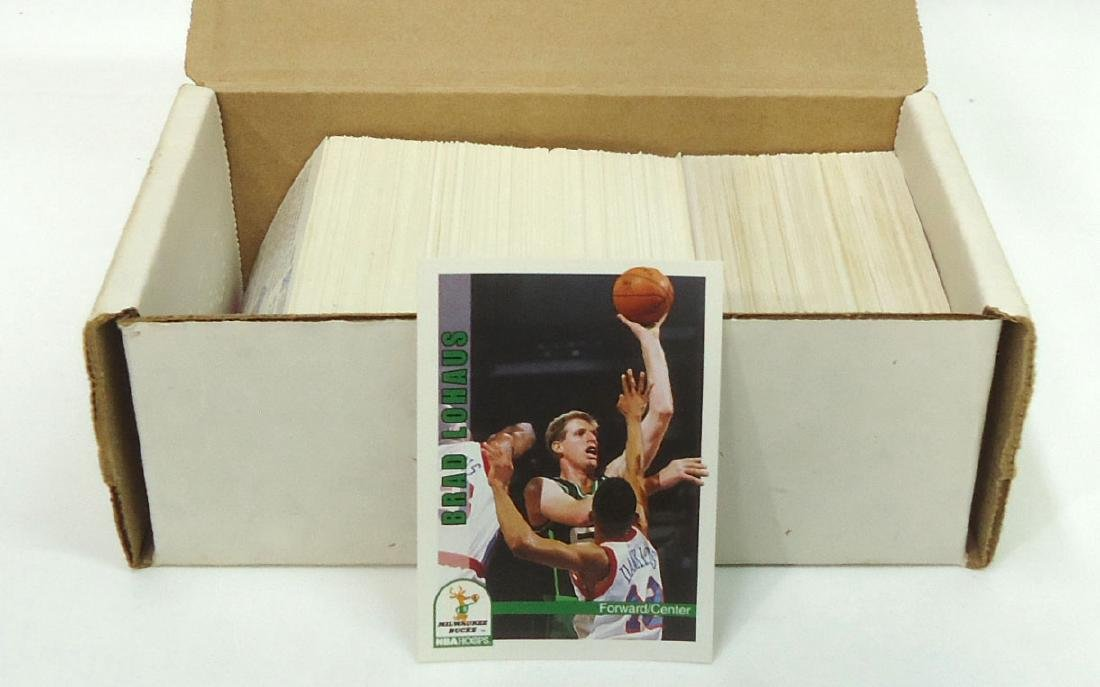 1992 Skybox & Front Row Basketball Cards