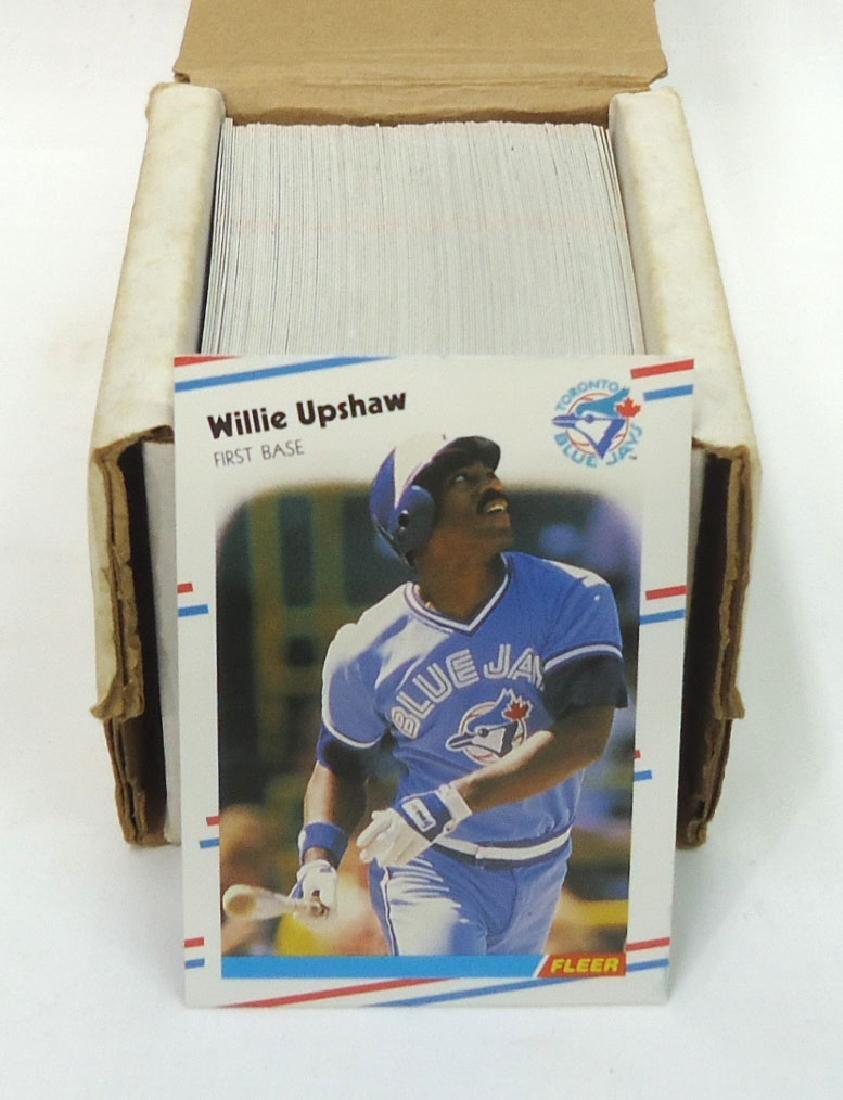 1988 Fleer Baseball Cards