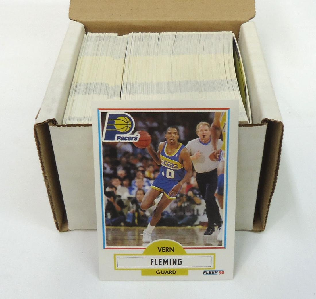 1990/91 Fleer Basketball Cards