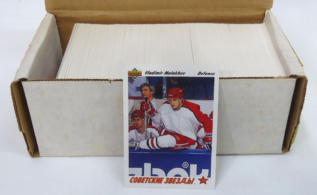 1991 Upper Deck Hockey Cards