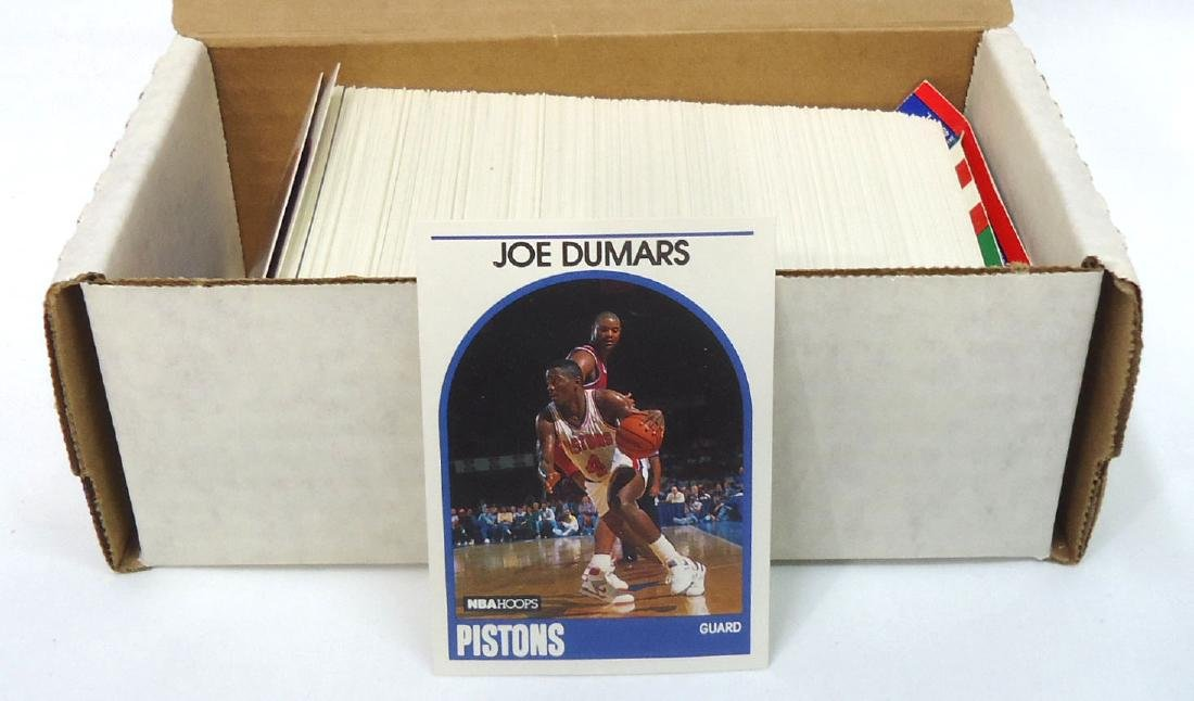 1989/90 Hoops Basketball Cards