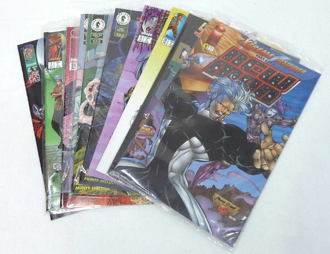 10 Mint Unread Comic Books