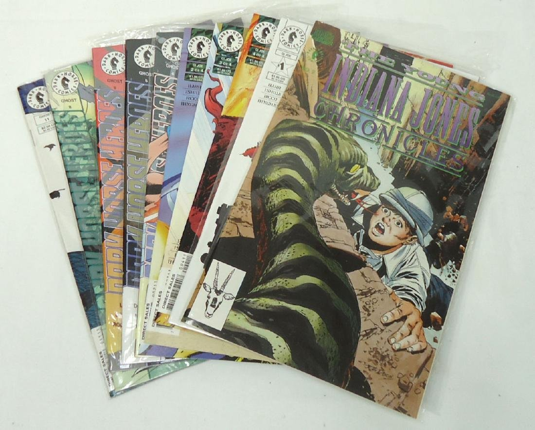 10 Mint Unread Comic Books