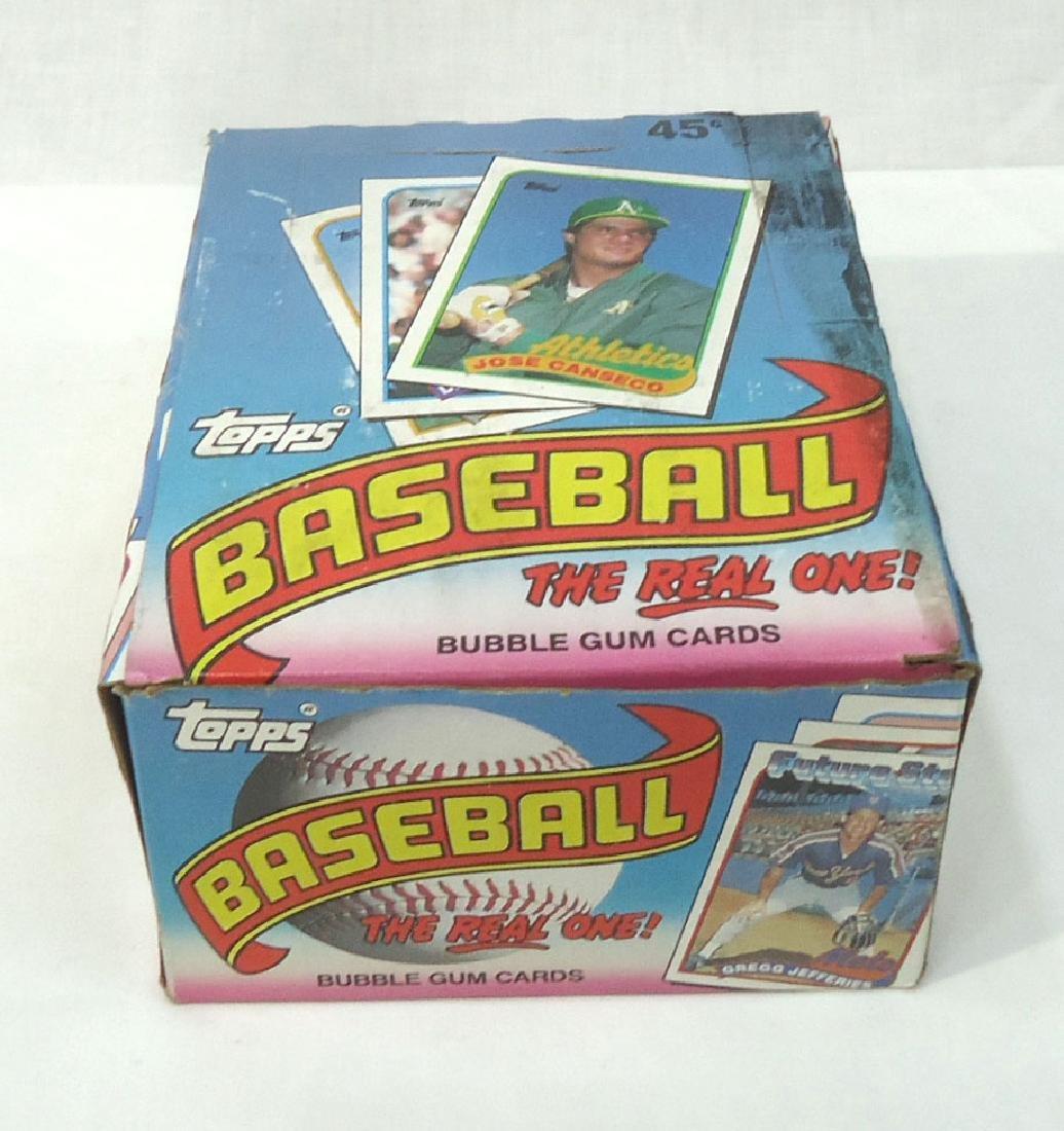 Box Topps Baseball Cards