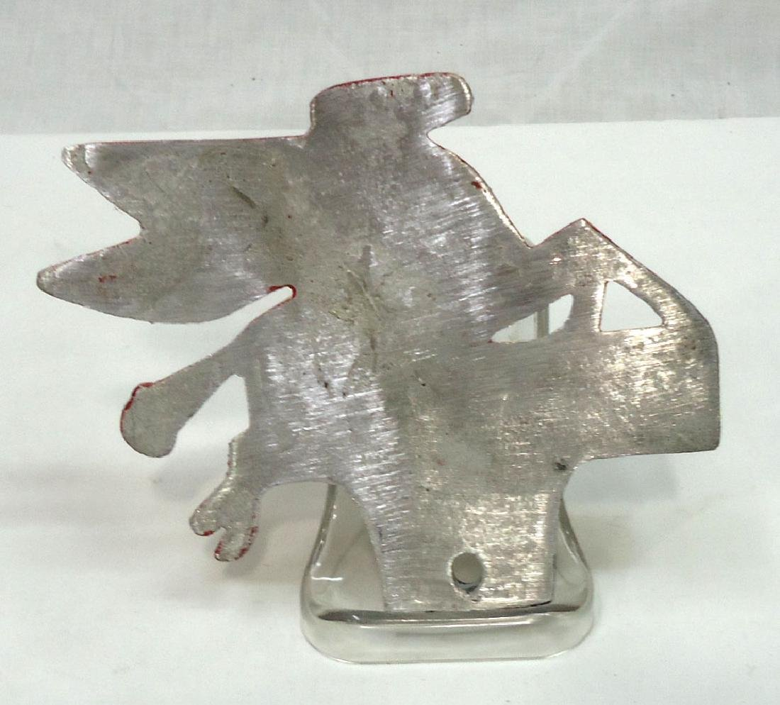 Modern C.I. Pegasus License Plate Topper - 2