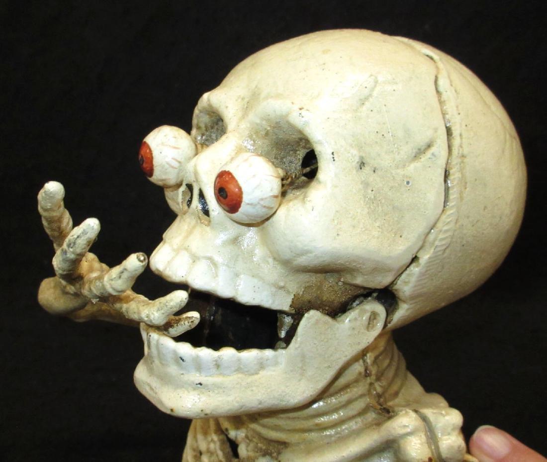 Modern C.I. Skeleton Mechanical Bank - 2