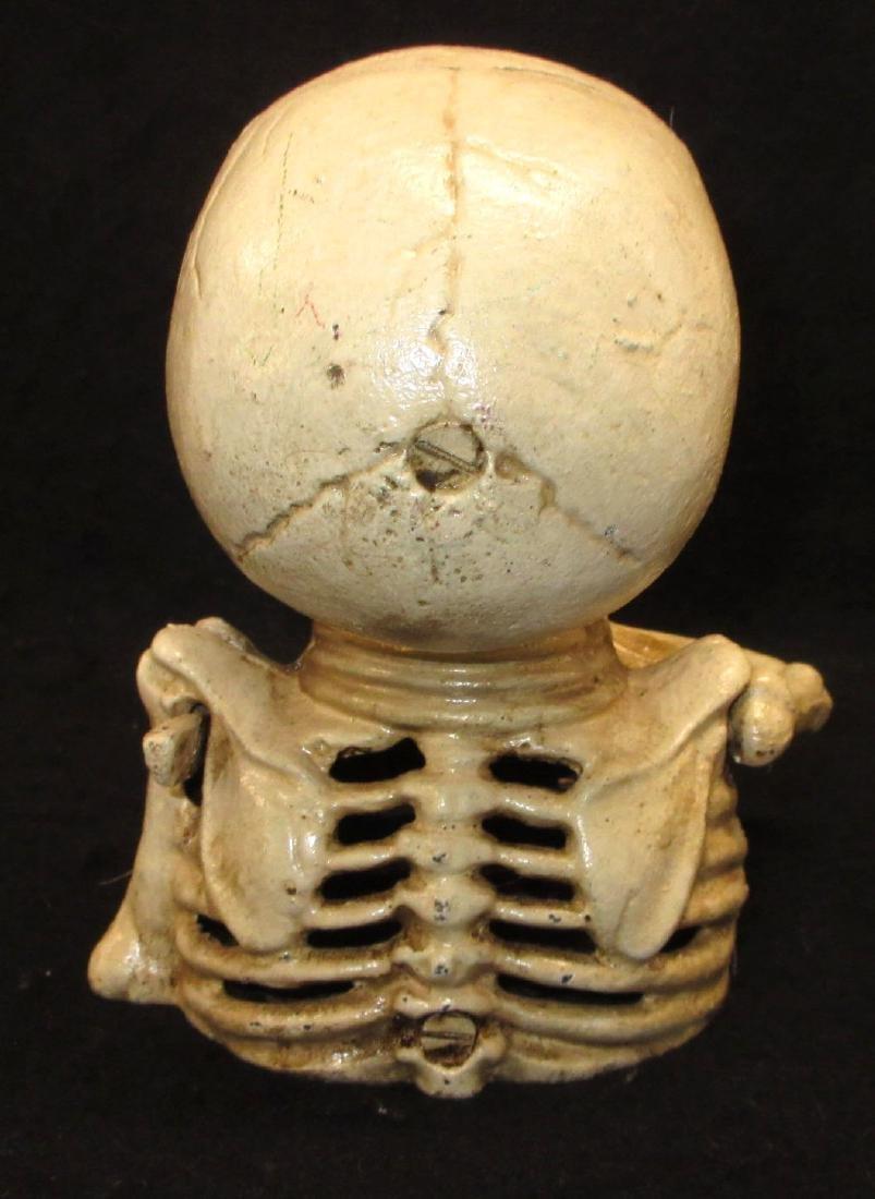 Modern C.I. Skeleton Mechanical Bank - 3