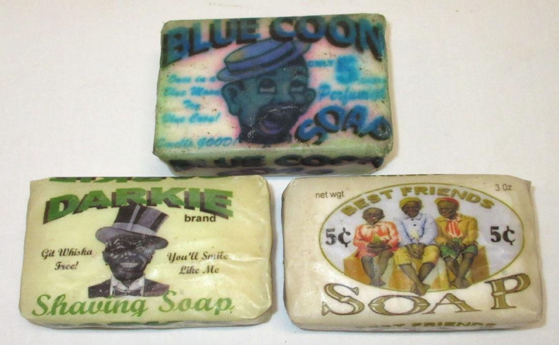 3 Bars Black Americana Soap