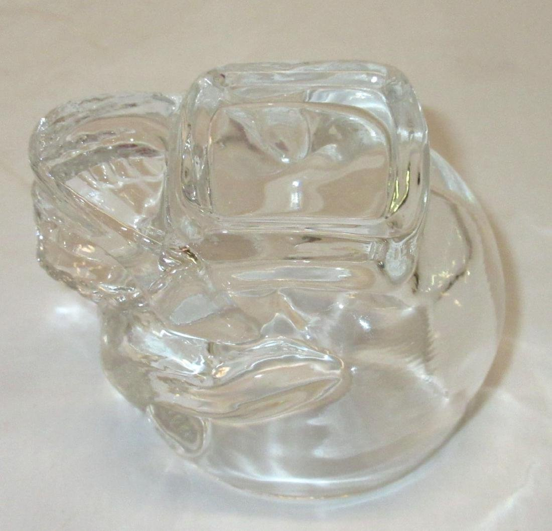 4 Glass Skull Shot Glasses - 3
