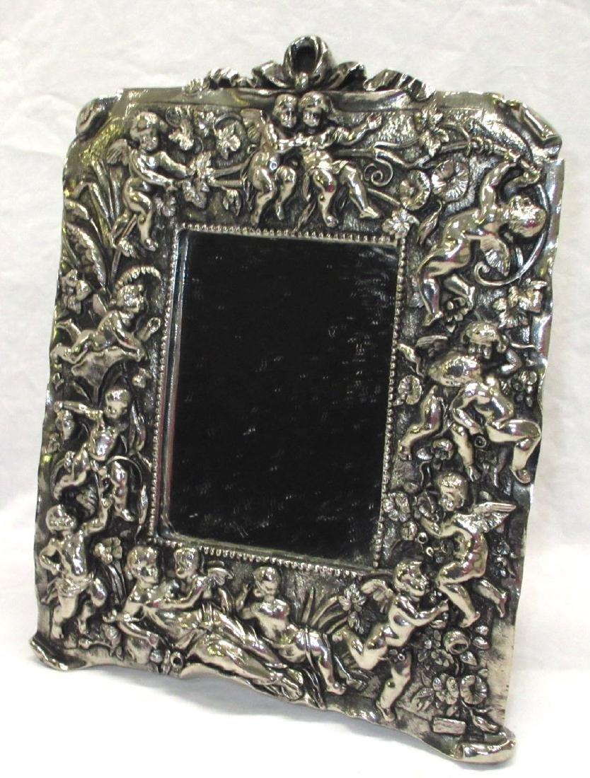 Ornate Cherub Dresser Mirror