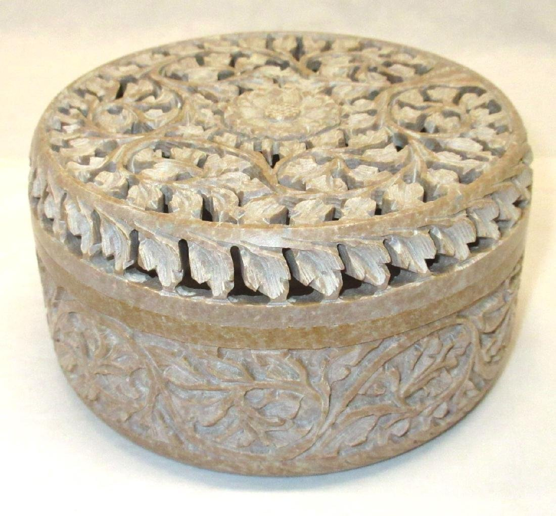 Oriental Hardstone Box
