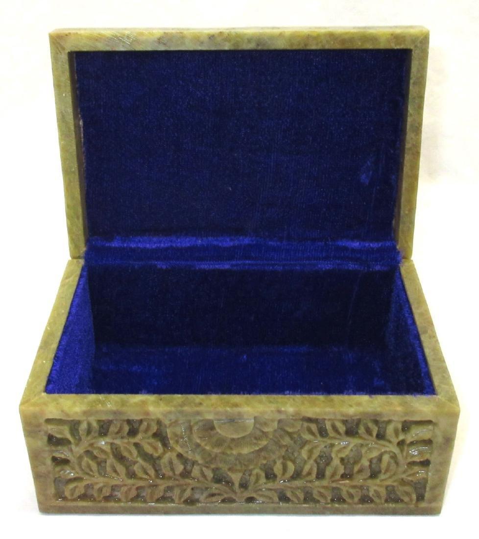 Oriental Hardstone Box - 2