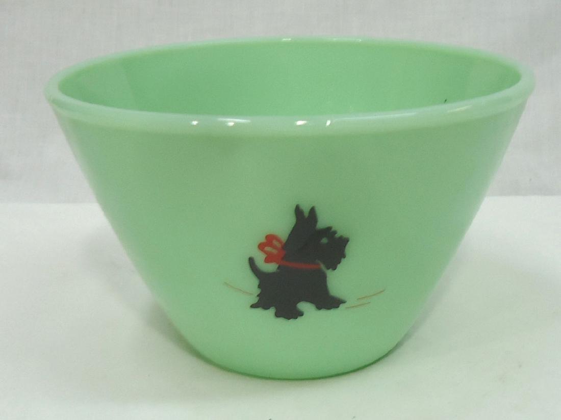 Scotty Jadeite Bowl