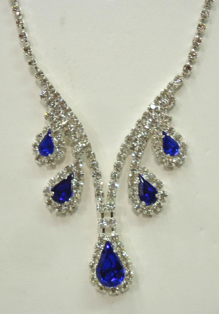 Costume Necklace & Earrings - 2
