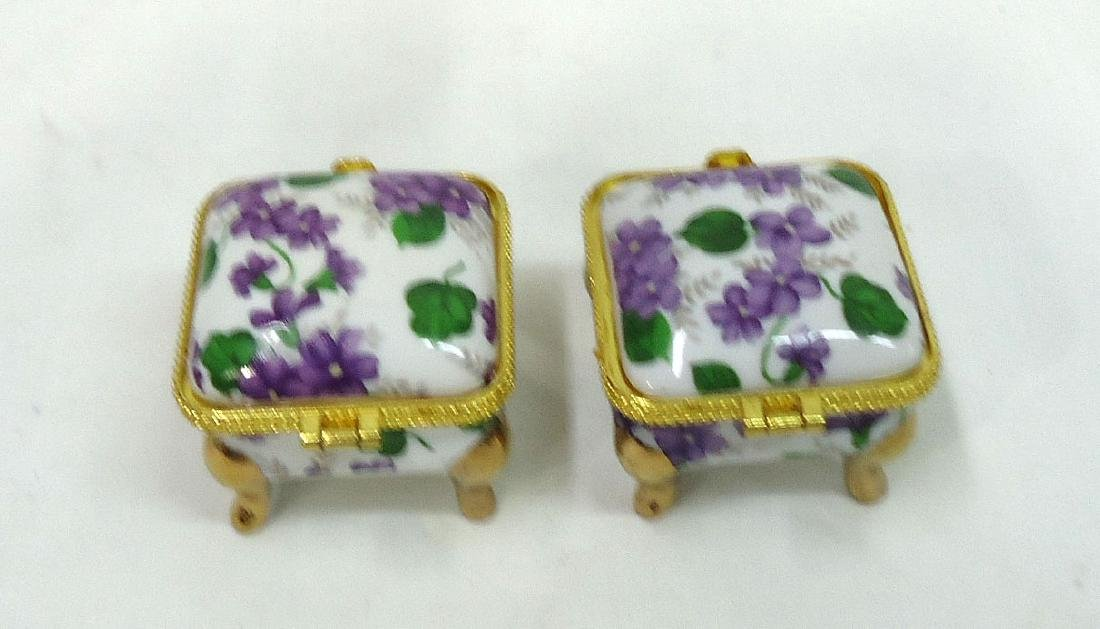2 Porcelain Ring Boxes - 2