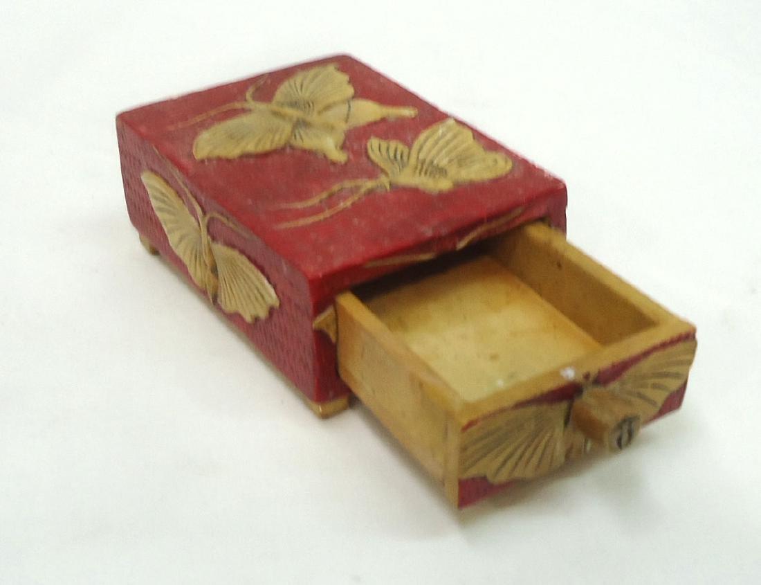 Carved Oriental Hardstone Box - 2