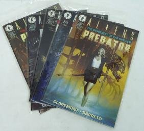 5 Aliens Comics