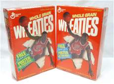 2 Sealed Boxes Michael Jordan Wheaties