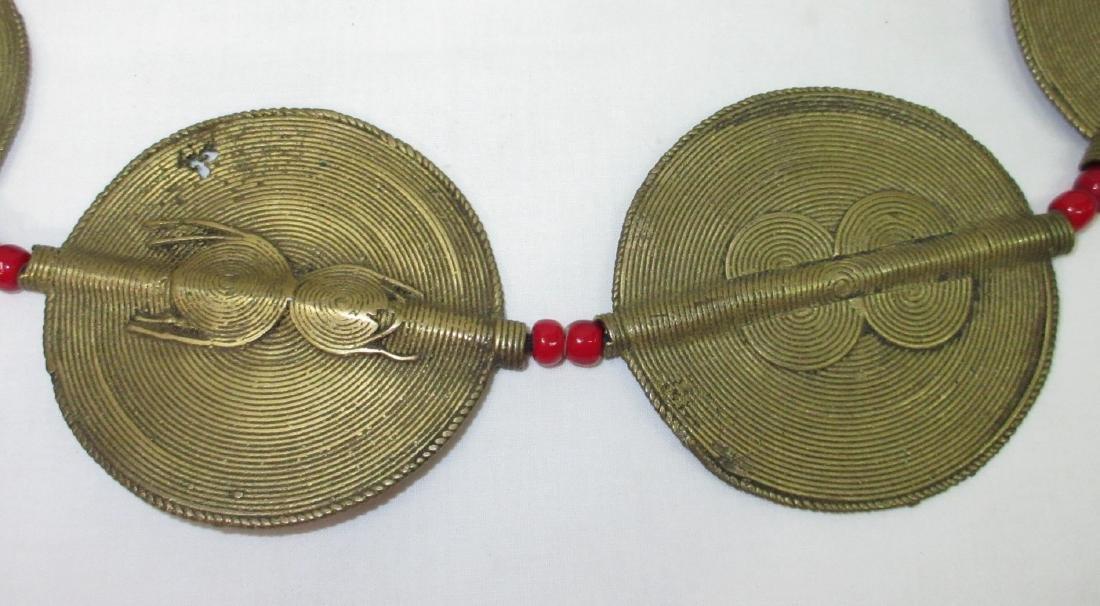 Brass Necklace & Bracelet - 2