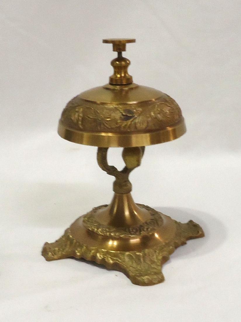 Brass Hotel Bell - 2