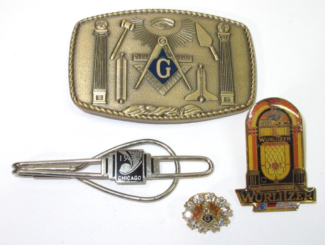 1934 Chicago, Wurlitzer & Masonic Items