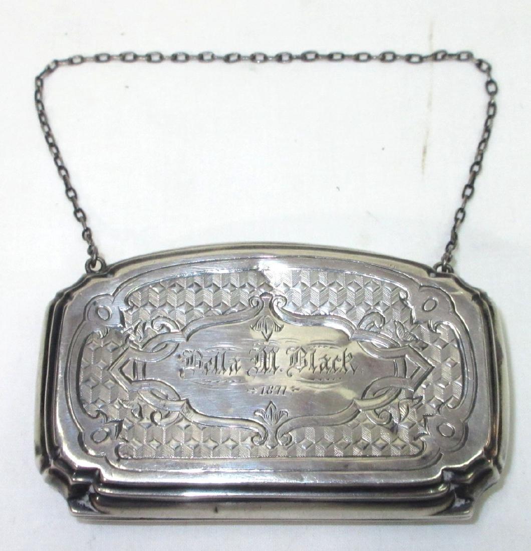 Silver Coin Purse