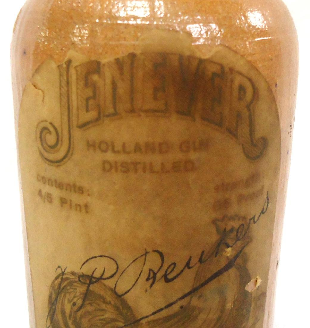 Stoneware Liquor Bottle - 2