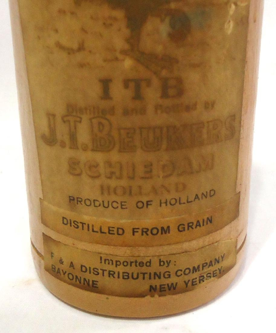 Stoneware Liquor Bottle - 3