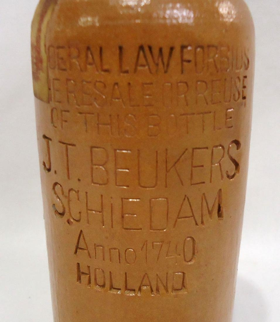 Stoneware Liquor Bottle - 5