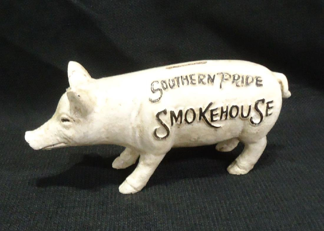 Modern C.I. Advertising Pig Bank - 2