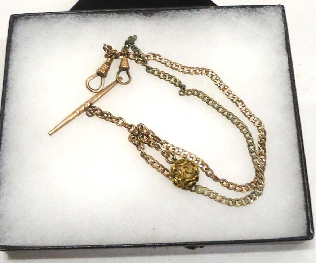 2 Watch Chains & Fobs - 3