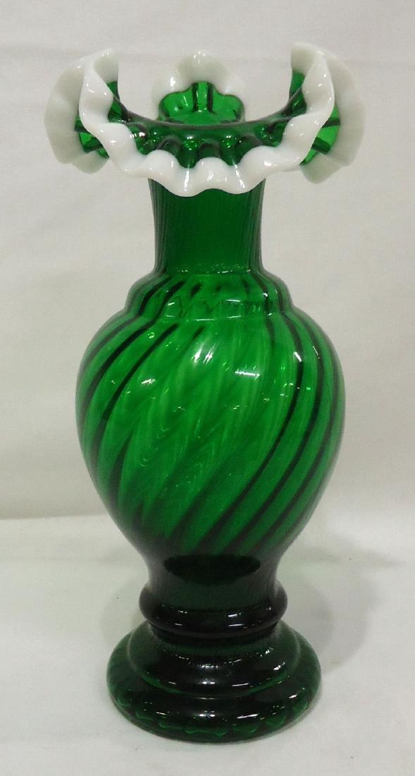 Green Opal Vase