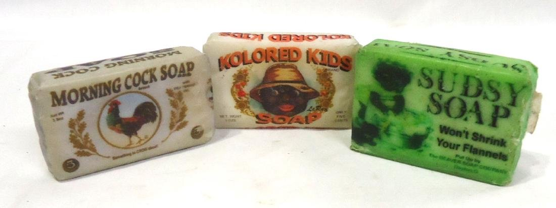 3 Bars Black Americana Soap