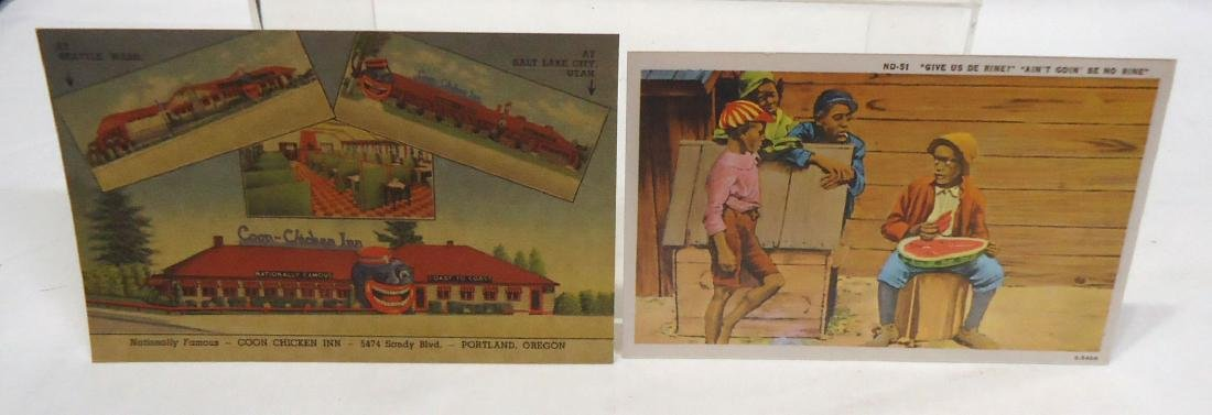 6 Modern Black Americana Post Cards - 2