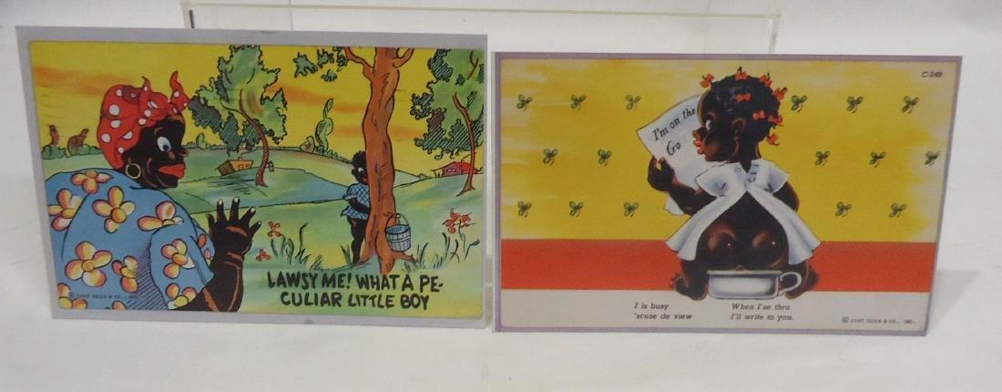 6 Modern Black Americana Post Cards - 3
