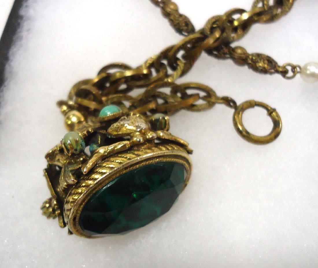 Pocket watch, Necklace & Bracelet - 3